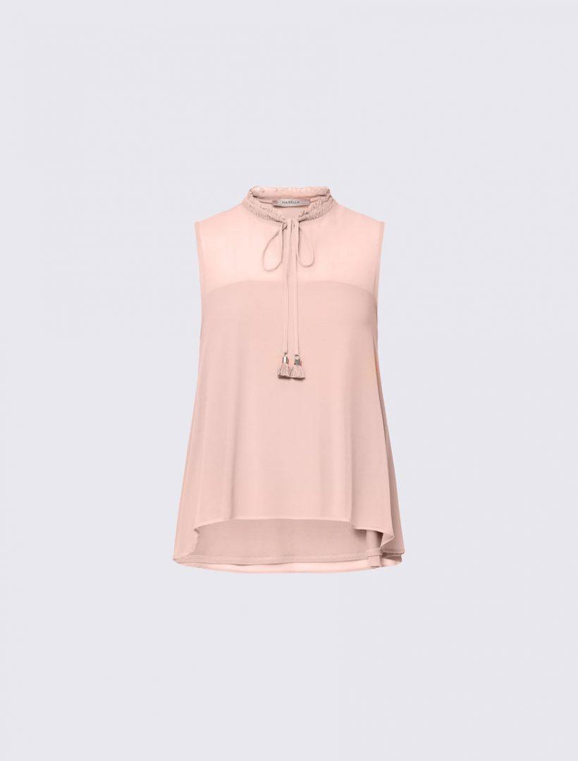 d98ece04dd4d Αμάνικη μπλούζα - Boudoir de Peli