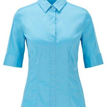 Slim-fit blouse