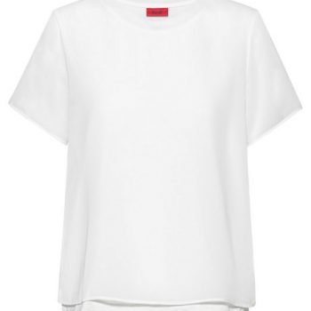 Short-sleeved jersey top