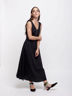 Μαυρο Midi Φορεμα