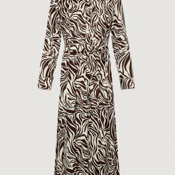 Φόρεμα με animal εκτύπωση