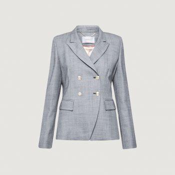 Σακάκι blazer από μαλλί