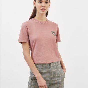T-SHIRT μπλουζάκι με κεντημένο D