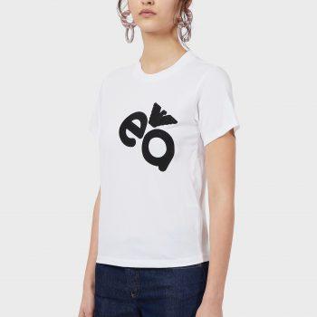Μπλουζάκι με εκτύπωση λογότυπου με χαβιάρι