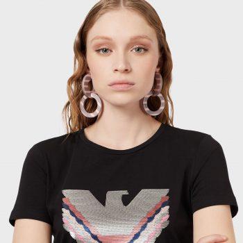 Μπλουζάκι με κεντητό αετό