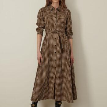 Βαμβακερό πουκάμισο φόρεμα